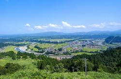 日本最大級の河岸段丘